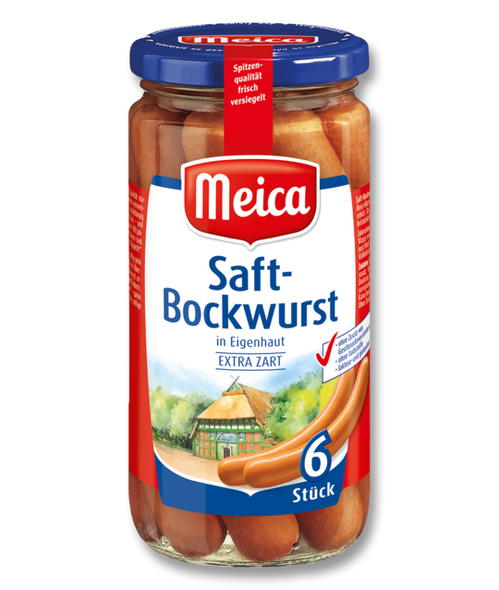 Meica Real German Sausages 8.8oz (250g)