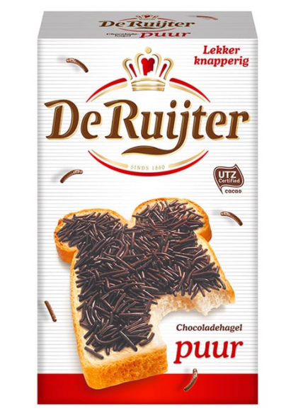 De Ruijter Dark Chocolate Sprinkles 14.1oz (400g)