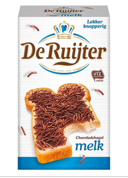 De Ruijter Milk Chocolate Sprinkles 14.1oz (400g)