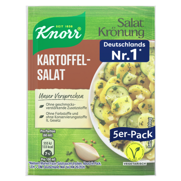 Knorr Salat Kronung Kartoffelsalat 3x5 pack (free shipping)