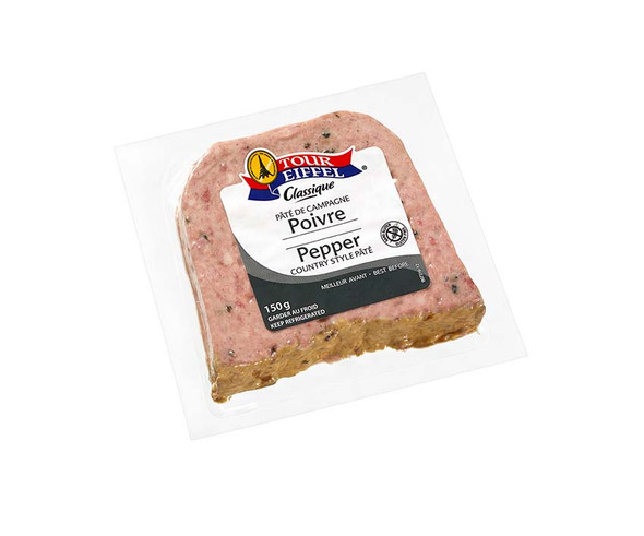 Tour Eiffel Pork Pate w/ Black Peppercorn 5oz
