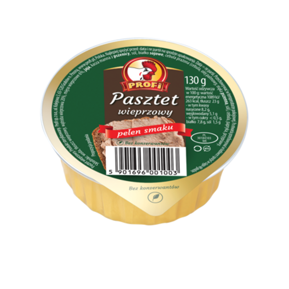 Profi Pork Pate with Paprika 4.6oz (130g)
