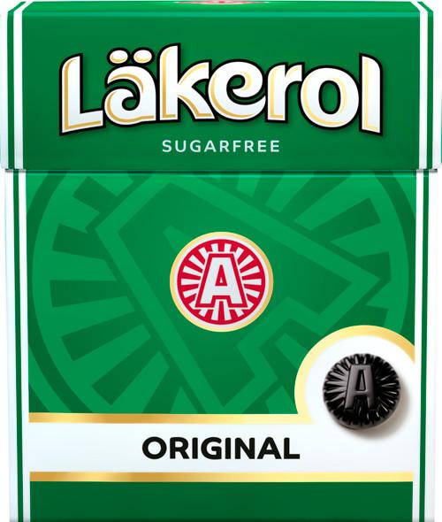 Läkerol Original sugar free 25g