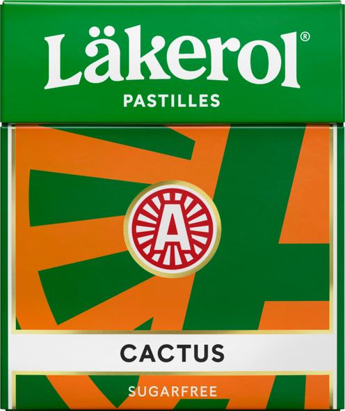 Lakerol Cactus Licorice sugar free 25g