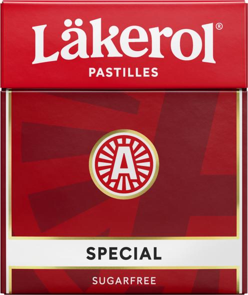 Lakerol Special Menthol Licorice sugar free 25g