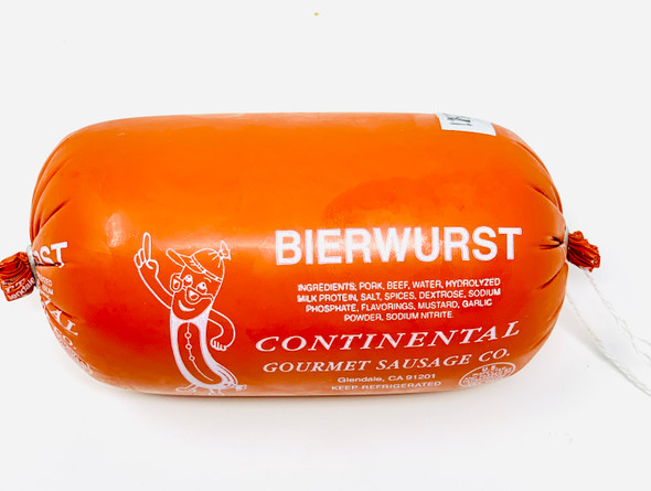Bierwurst Specialty Chub with Herbs  12oz each