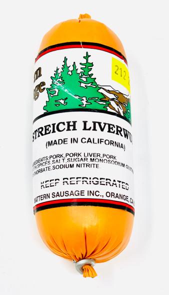 Streich Liverwurst  w/ spices 8oz.