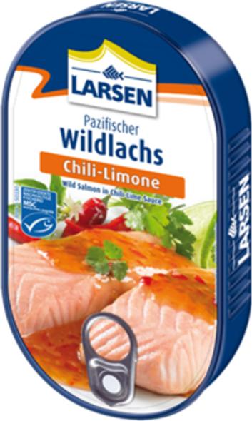 Larsen Wild Salmon Chili-Lime Sauce 200g