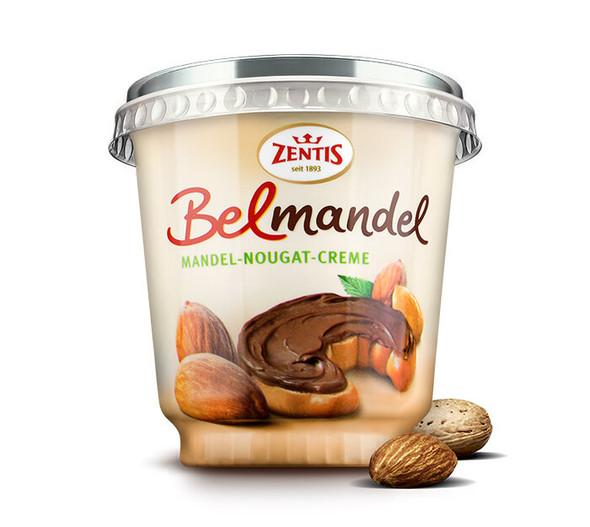Zentis Belmandel Almond Nougat Cream  400g