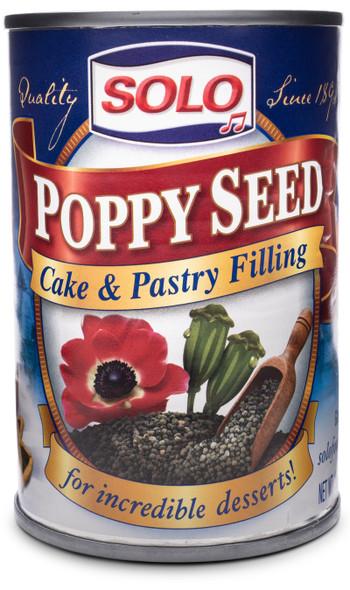 Solo Poppy Seed Filling 12.5 oz