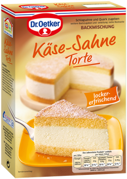 Dr. Oetker Käse-Sahne Torte 385g