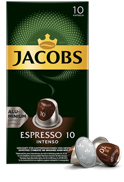 Jacobs Espresso 10 Intenso (10 capsules)