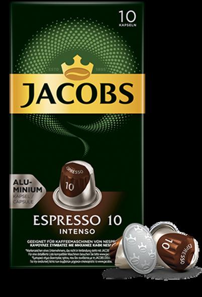 Jacobs Espresso 10 Intenso (10 capsules)