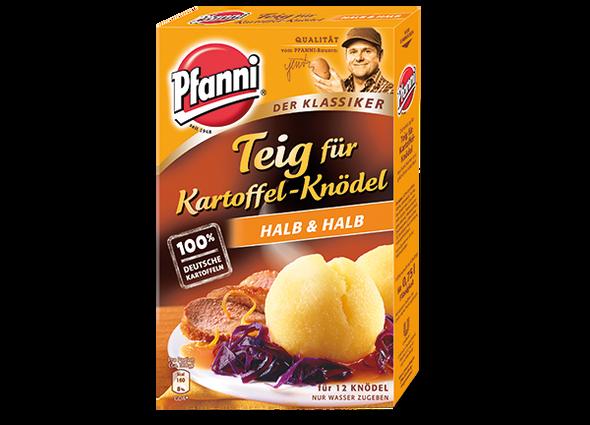 Pfanni Teig fur Kartoffel-Knodel Halb & Halb Mix 318g