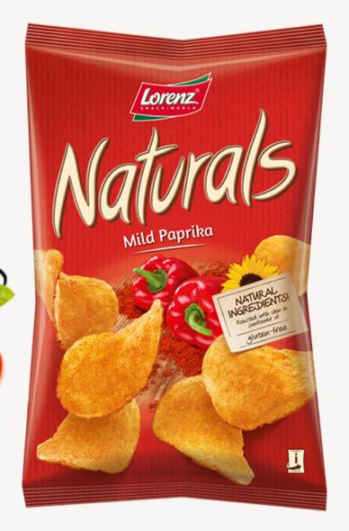 Naturals Mild Paprika Chips 3.5oz