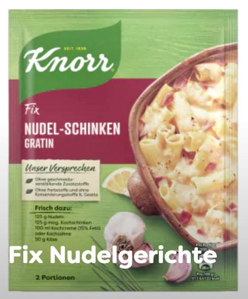 Knorr Fix Nudel-Schinken Gratin 28g
