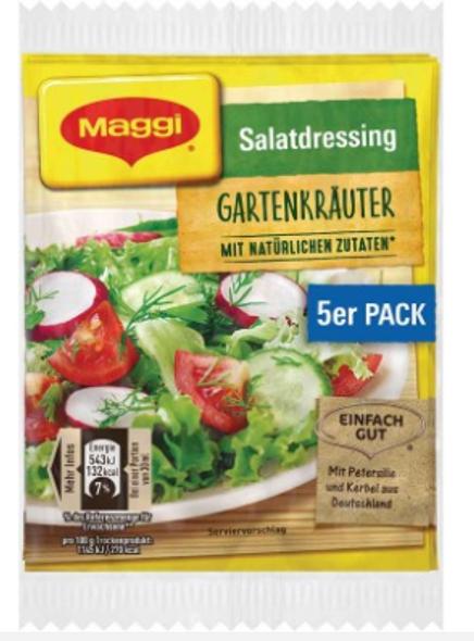 Maggi Salatdressing Gartenkrauter (5 pack)