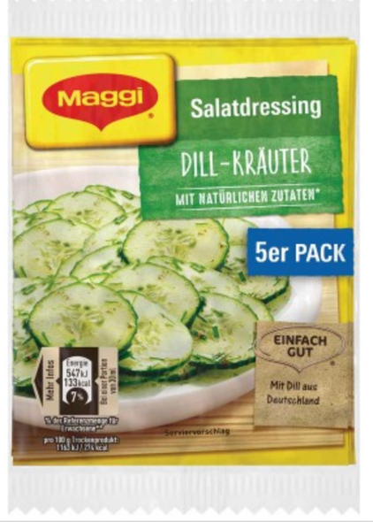 Maggi Salatdressing Dill-Krauter (5 pack)
