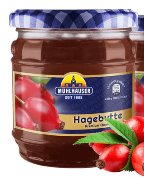 Muhlhauser Hagebutte Jam 16oz (450g)
