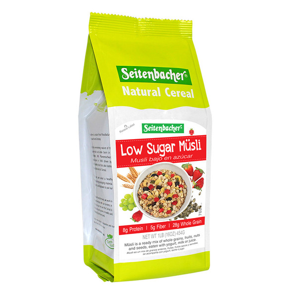 Seitenbacher Low Sugar Müsli 16oz (454g)