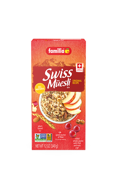 Familia Swiss Müesli Original Cereal 12oz (340g)