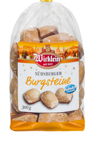Wicklein Christmas Gingerbread Squares 7.05oz (200g)