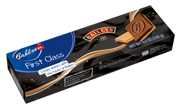 First Class Baileys Crispy Wafers 4.4oz (125g)