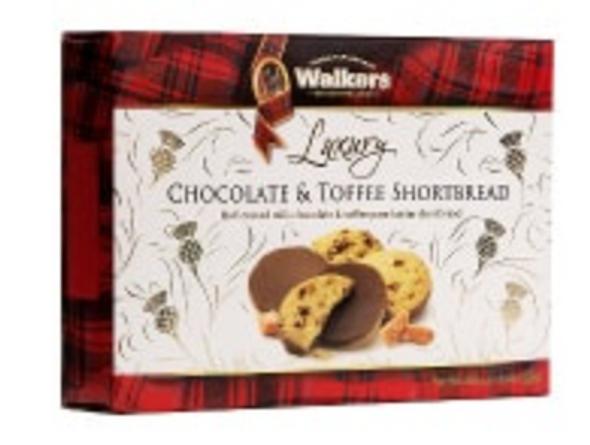 Walkers Luxury Chocolate & Toffee Shortbread 5.6oz (160g)