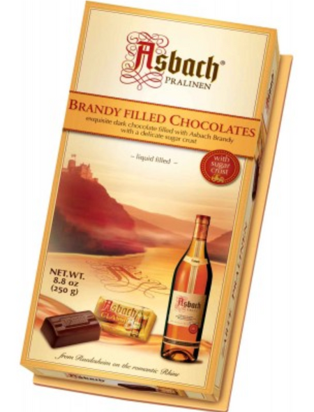 Asbach Brandy Filled Chocolates 8.8oz (250g)