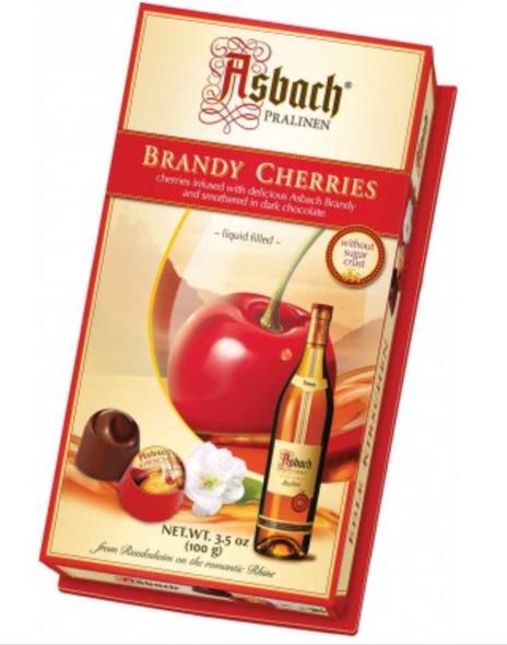 Asbach Brandy Filled Cherries 3.5oz (100g)