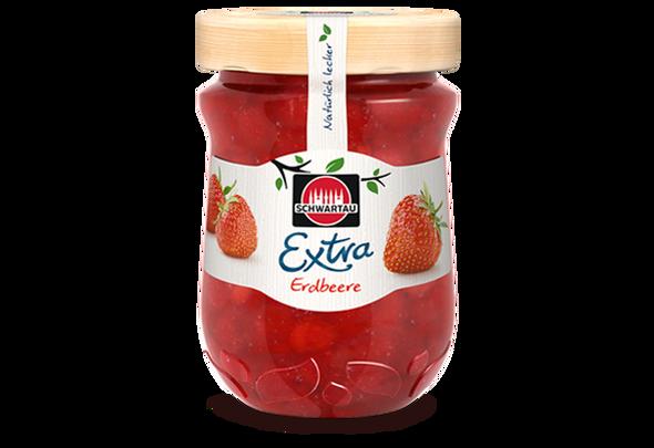 Schwartau  Extra Strawberry Fruit Spread 12oz (340g)