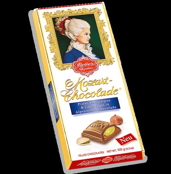 Reber Constanze  Mozart Milk Chocolate Bar 3.5oz (100g)