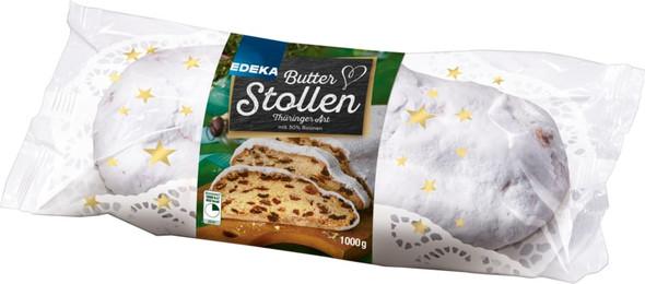 Gut & Gunstig Butter Stollen Thuringer Art 1000g