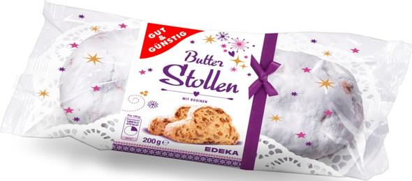 Gut & Gunstig Butter Stollen 200g