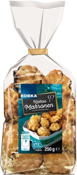 Edeka Kokos Makronen 250g