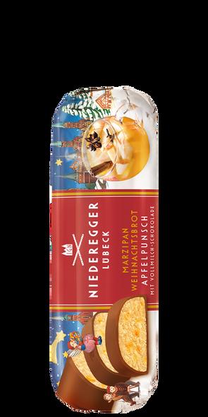 Niederegger Marzipan Weinhnachtsbrot Apfelpunsch 4.4oz (125g)
