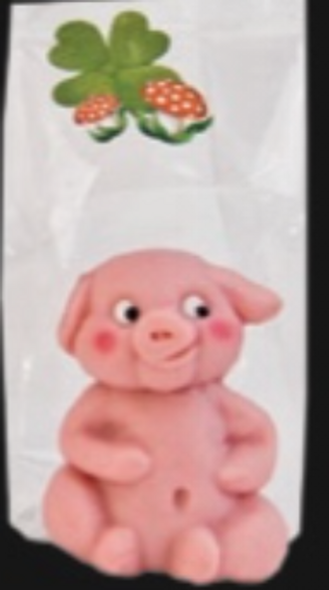 Funsch Marzipan Sitting Pig 50g