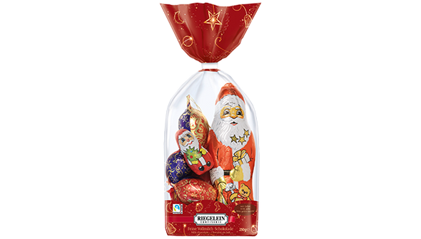 Riegelein Chocolate Mixed Ornaments 250g