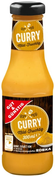 Gut & Gunstig Mild-fruchtig Curry 300ml