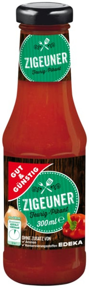 Gut & Gunstig Zigeuner Sauce 300ml