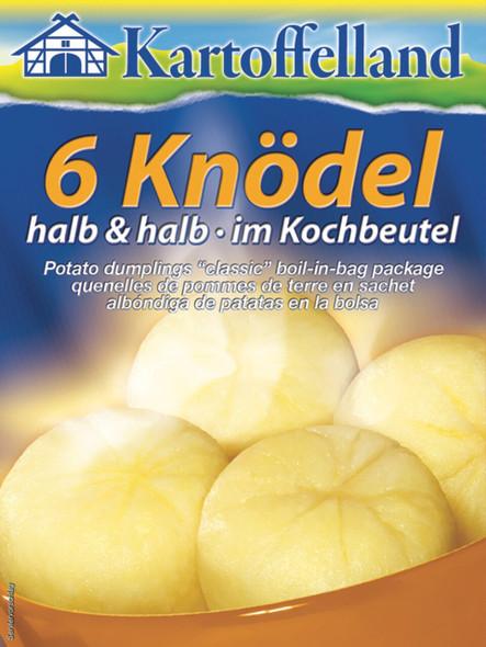 Kartoffelland 6 Knodel Halb & Halb 7oz (200g)