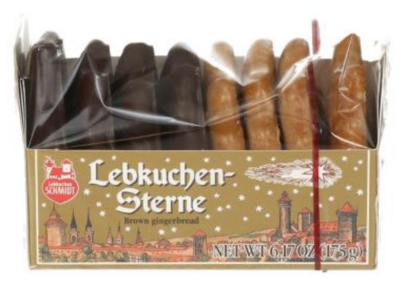 Lebkuchen-Schmidt Lebkuchen stars 175g
