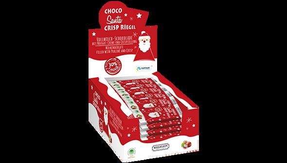 Riegelein Choco Santa Crisp Riegel 50g