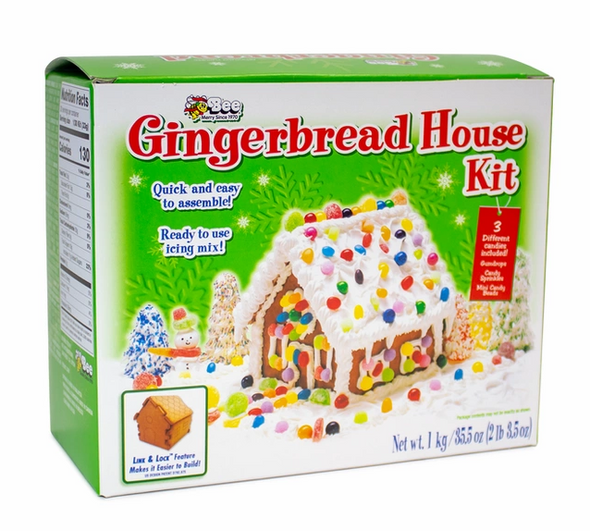Bee Gingerbread House Kit 35.5oz