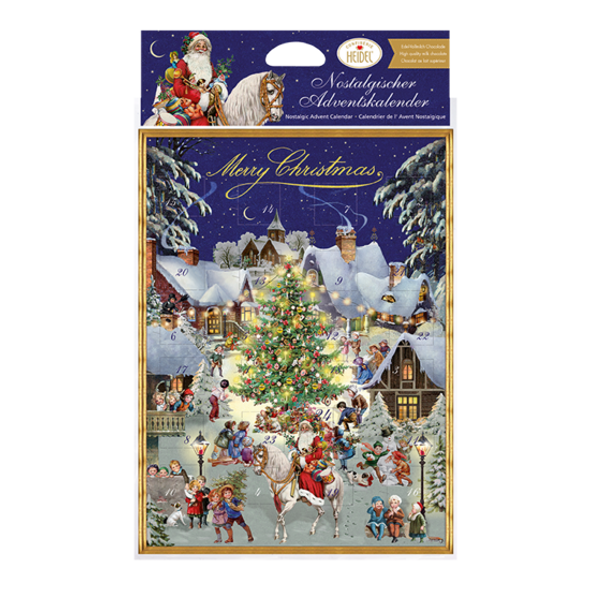 Heidel Christmas Advent Calendar 75g