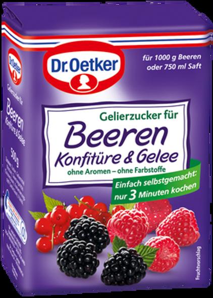 Dr. Oetker Gelierzucker für Beeren Konfitüre 500g
