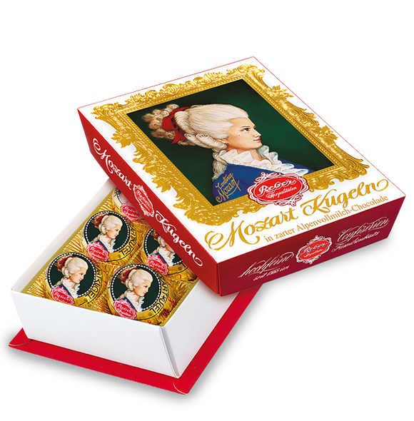 Reber Mozart Kugeln Milk Chocolate 120g