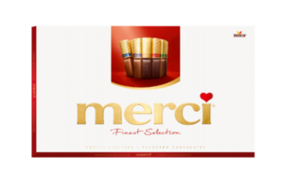 Merci Finest Assortment of European Chocolates 14.1oz. (400g)