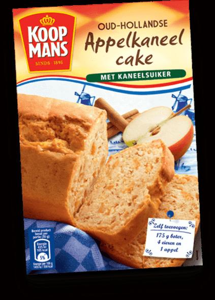 Koopmans Oud-Hollandse Appelkaneel Cake Met Kaneelsuiker 14.1oz. (400g)