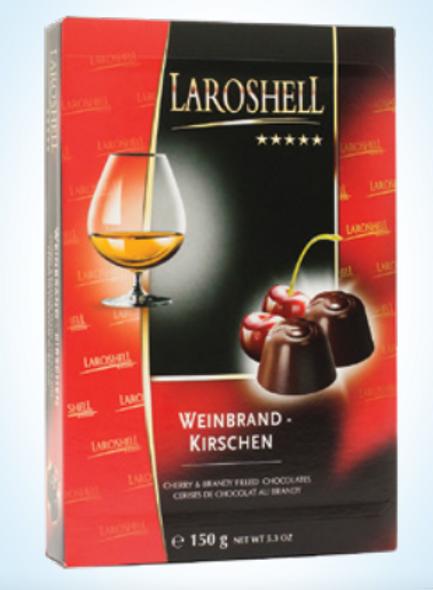 Laroshell Cherry & Brandy Filled Chocolates 5.3oz. (150g)
